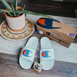NIB Champion sandals